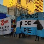 Protesta de Barrios de Pie